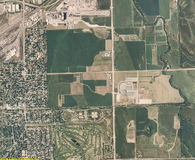 Lancaster County, Nebraska aerial photography