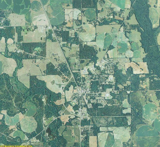 Lee County, Georgia aerial photography