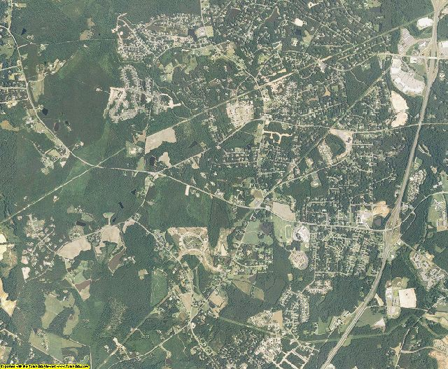Lee County, North Carolina aerial photography