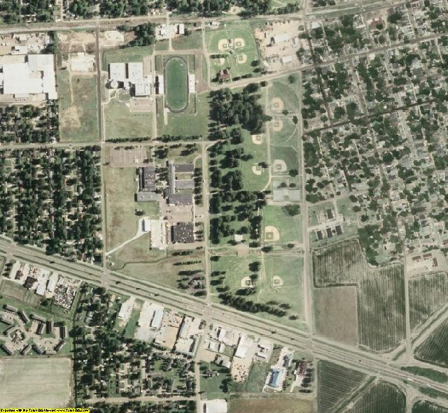 Leflore County, MS aerial photography detail