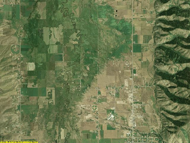 Lincoln County, Wyoming aerial photography