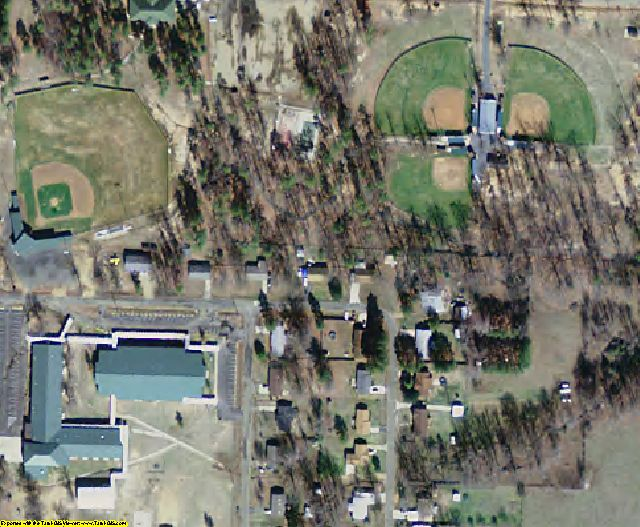 Little River County, AR aerial photography detail