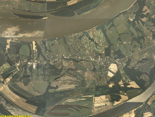 Livingston County, Kentucky aerial photography