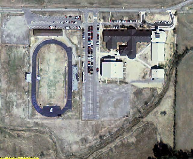 Logan County, AR aerial photography detail