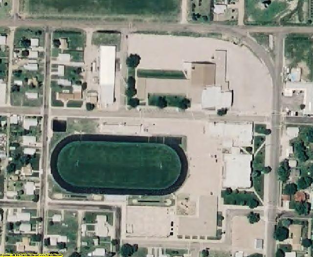 Logan County, KS aerial photography detail