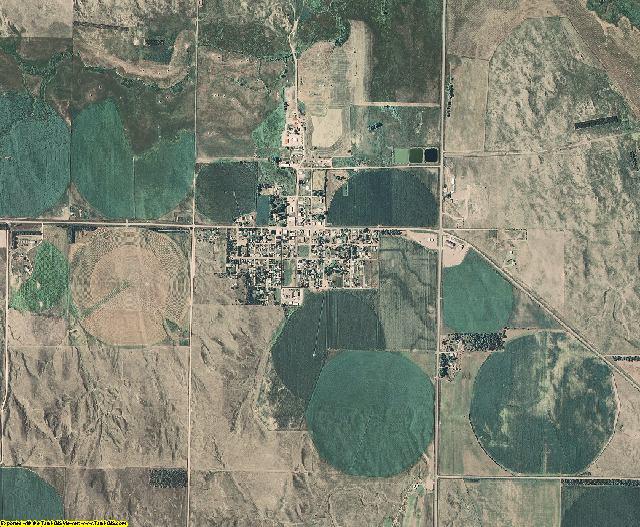 Logan County, Nebraska aerial photography