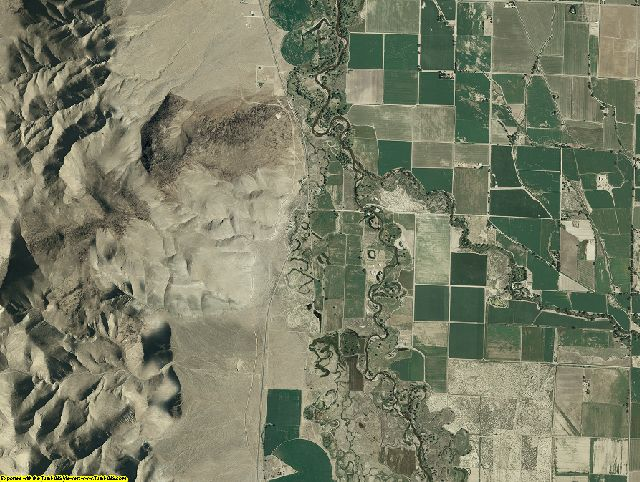 Lyon County, Nevada aerial photography