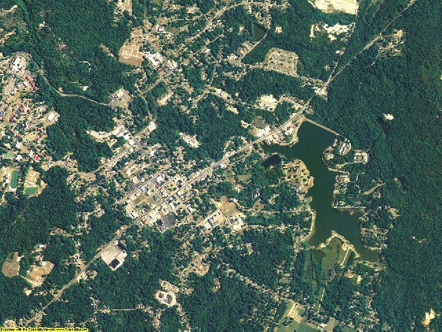 Macon County, Alabama aerial photography