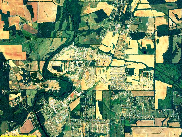 Madison County, Alabama aerial photography
