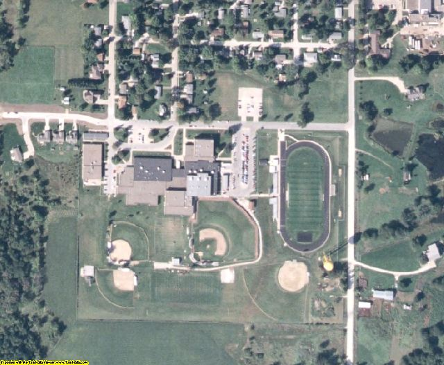 Madison County, IA aerial photography detail