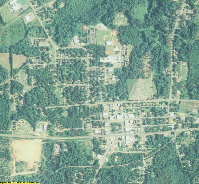 Marion County, GA aerial photography detail