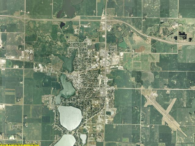 Martin County, Minnesota aerial photography