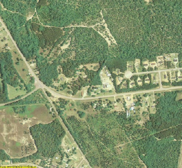 McDuffie County, GA aerial photography detail