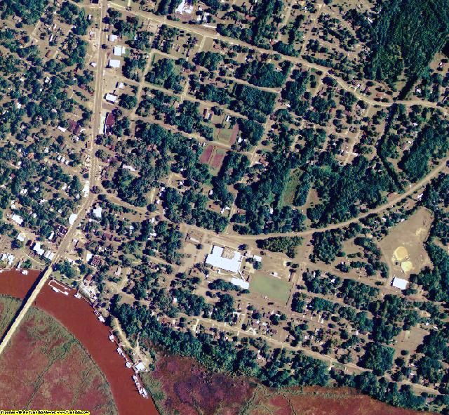 McIntosh County, GA aerial photography detail