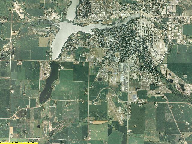 McLeod County, Minnesota aerial photography