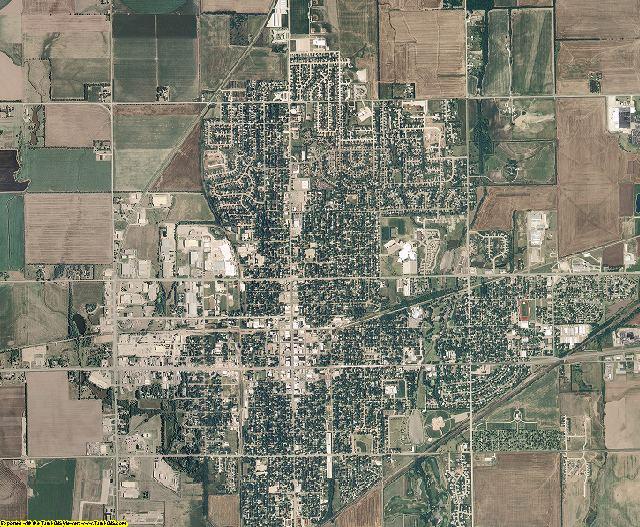 McPherson County, Kansas aerial photography