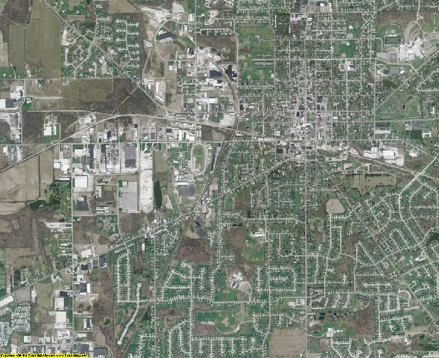 Medina County, Ohio aerial photography