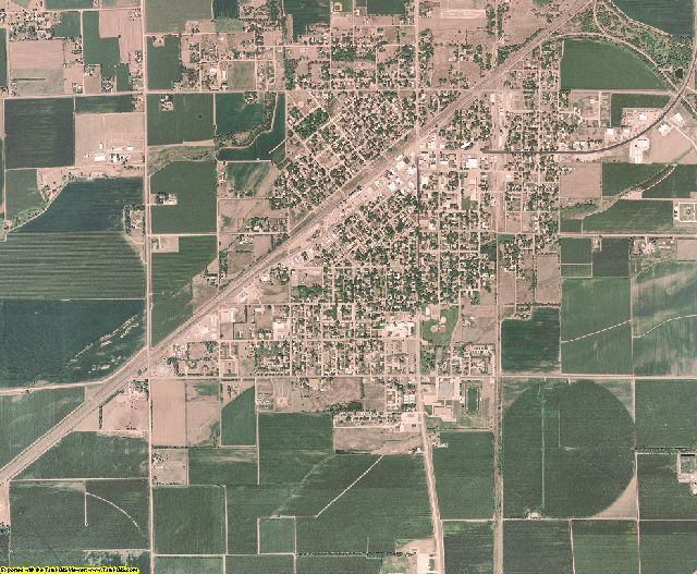 Merrick County, Nebraska aerial photography