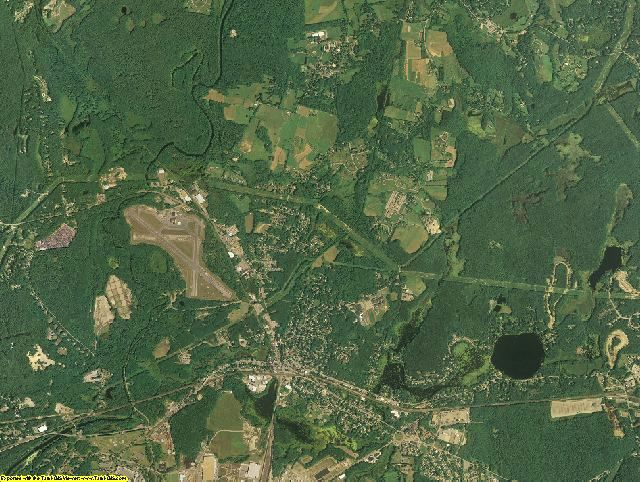 Middlesex County, Massachusetts aerial photography