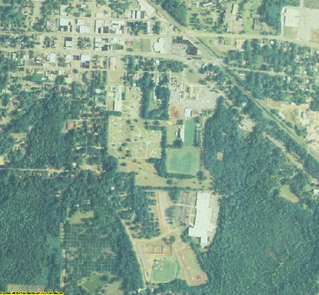Monroe County, GA aerial photography detail