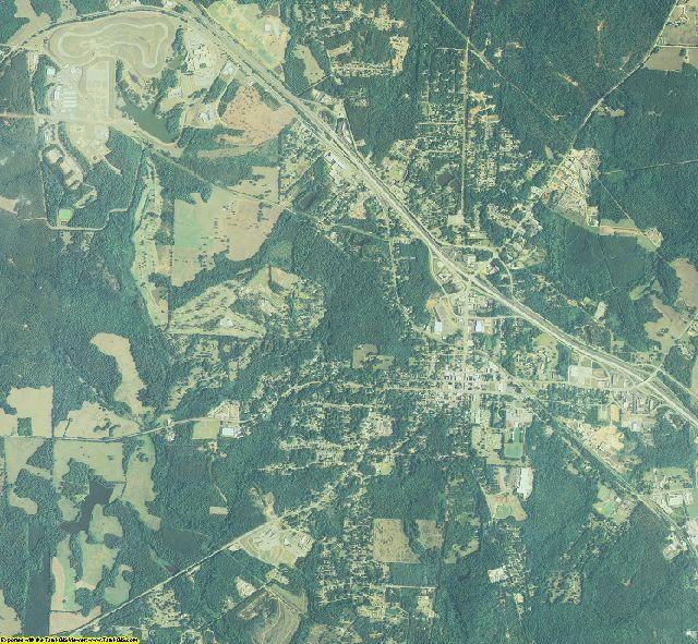 Monroe County, Georgia aerial photography