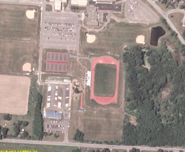 Monroe County, NY aerial photography detail