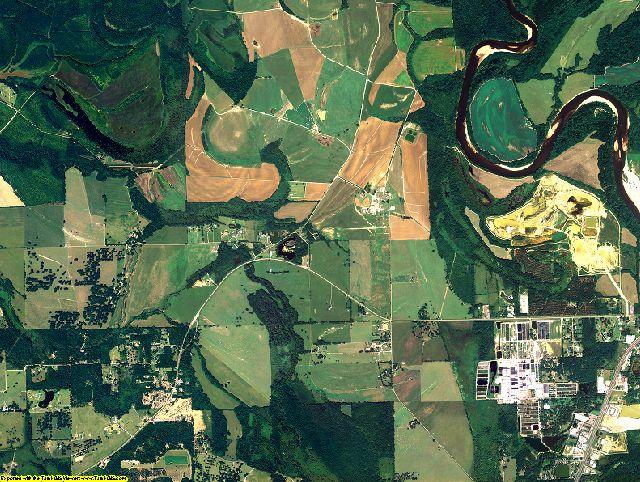 Montgomery County, Alabama aerial photography