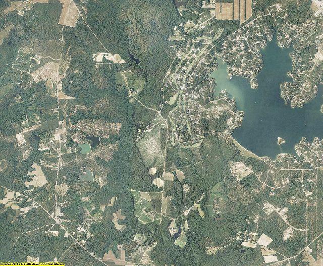 Moore County, North Carolina aerial photography