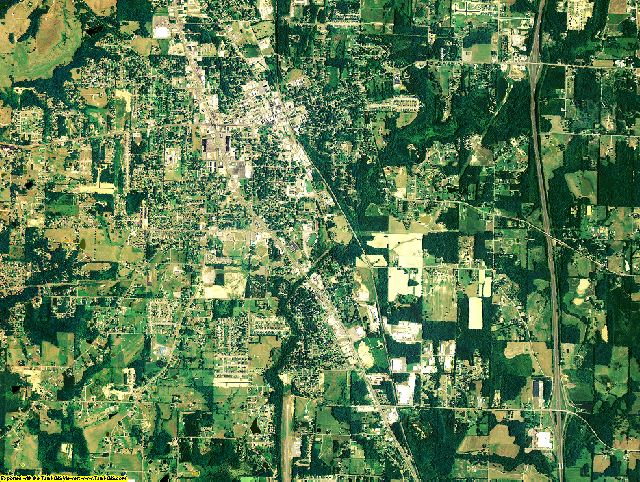 Morgan County, Alabama aerial photography