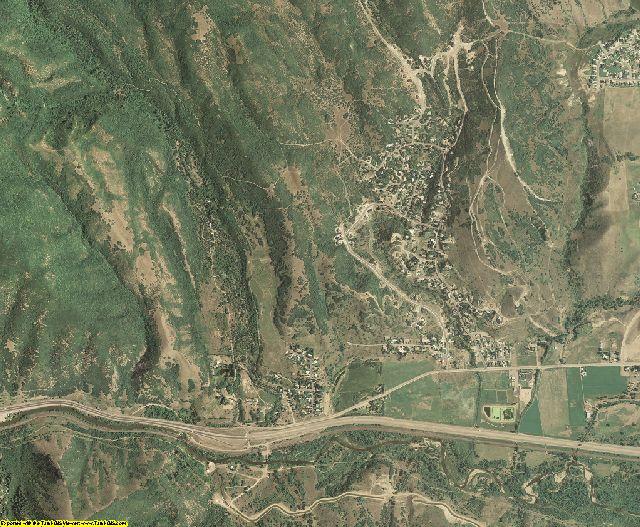 Morgan County, Utah aerial photography