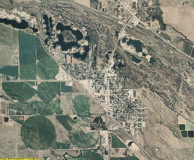 Morrill County, Nebraska aerial photography