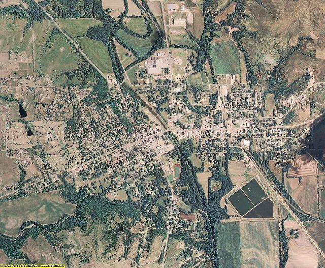 Morris County, Kansas aerial photography