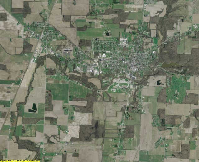 Morrow County, Ohio aerial photography