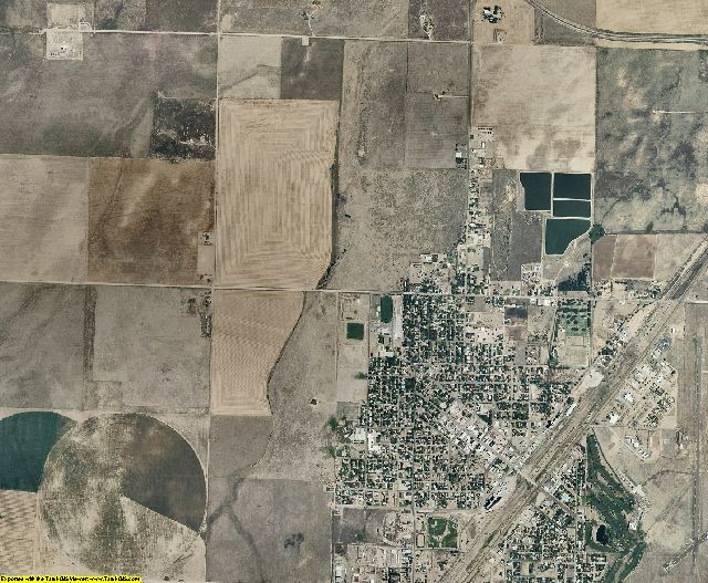 Morton County, Kansas aerial photography
