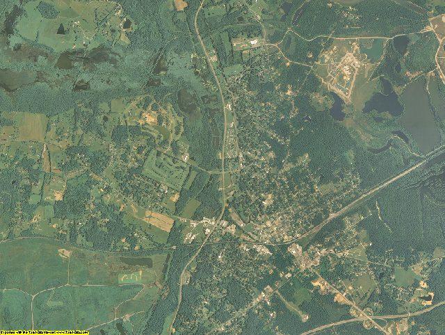 Muhlenberg County, Kentucky aerial photography