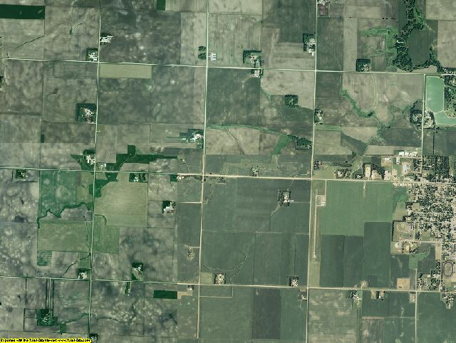 Murray County, Minnesota aerial photography