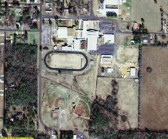 Nevada County, AR aerial photography detail