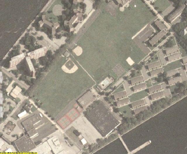 New York County, NY aerial photography detail