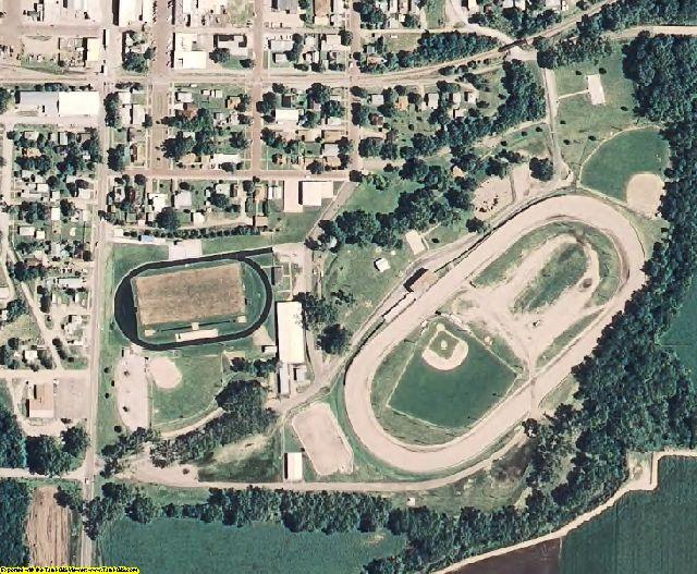 Norton County, KS aerial photography detail