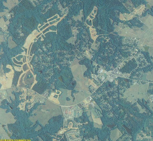 Oconee County, Georgia aerial photography