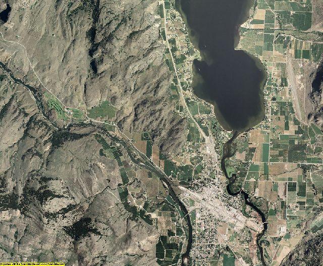Okanogan County, Washington aerial photography