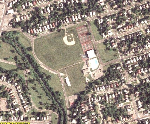 Onondaga County, NY aerial photography detail
