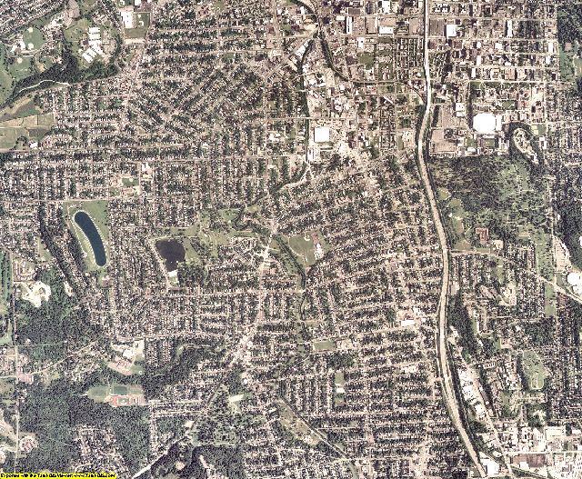 Onondaga County, New York aerial photography