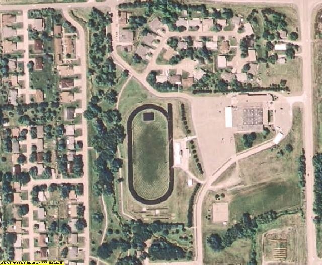 Otoe County, NE aerial photography detail