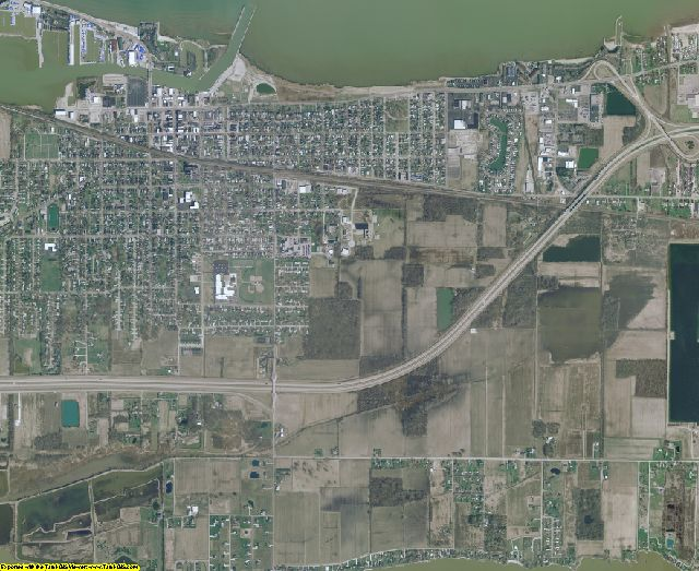 Ottawa County, Ohio aerial photography