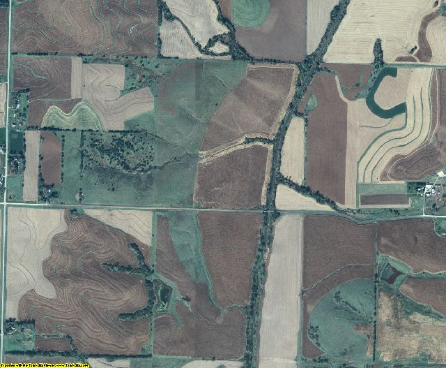 Page County, Iowa aerial photography