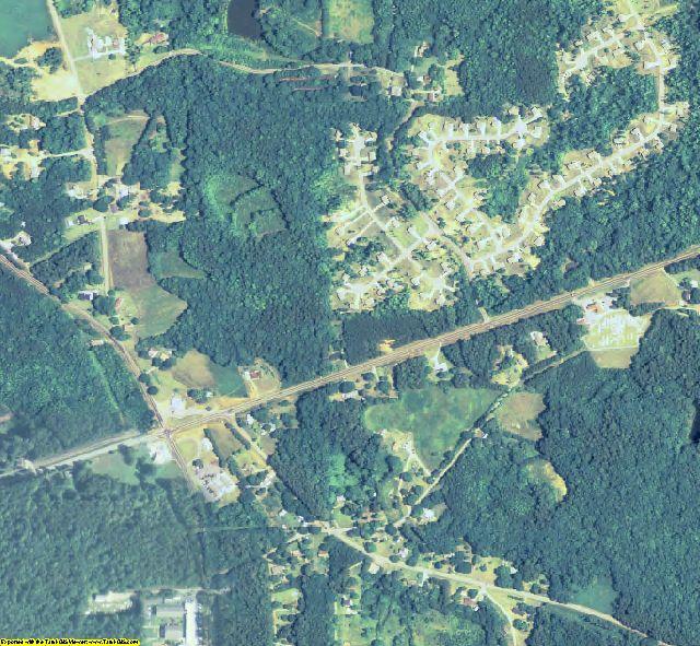 Paulding County, GA aerial photography detail