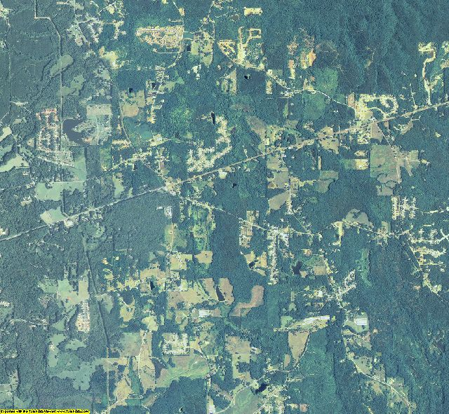 Paulding County, Georgia aerial photography