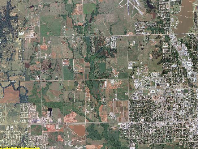 Payne County, Oklahoma aerial photography