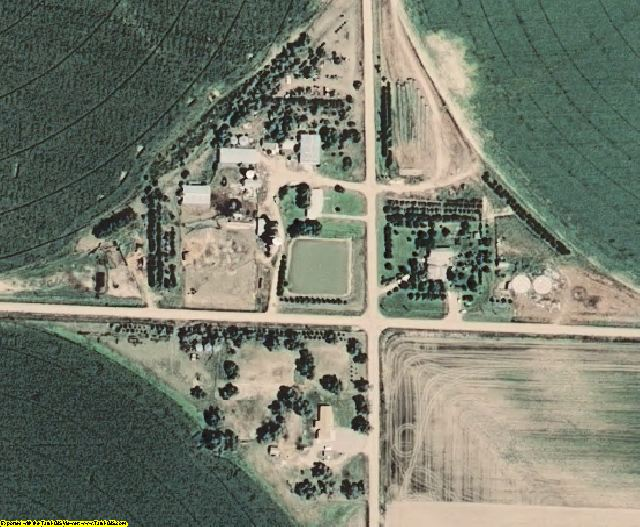 Perkins County, NE aerial photography detail